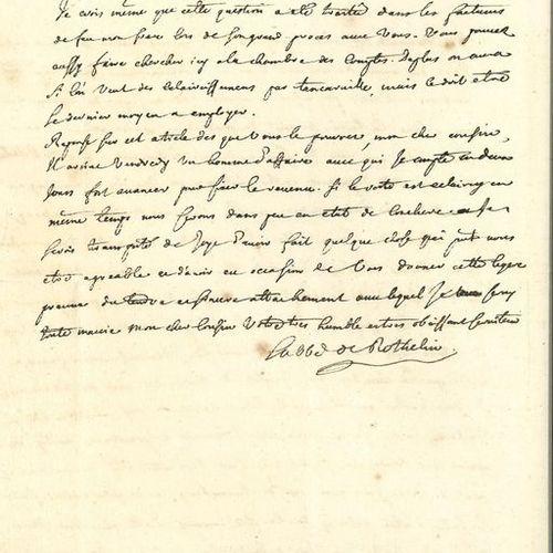 ROTHELIN Charles d'Orléans, abbé de (1691 1744) numismate, bibliophile, théologi…