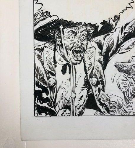 Antonio HERNANDEZ PALACIOS (1921 2000)  MacCOY, Fiesta in Durango, 1982.  Pencil…