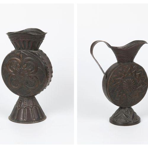 EMPIRE OTTOMAN, XIXème XXème siècles Set of plasterwork and some shaped parts in…