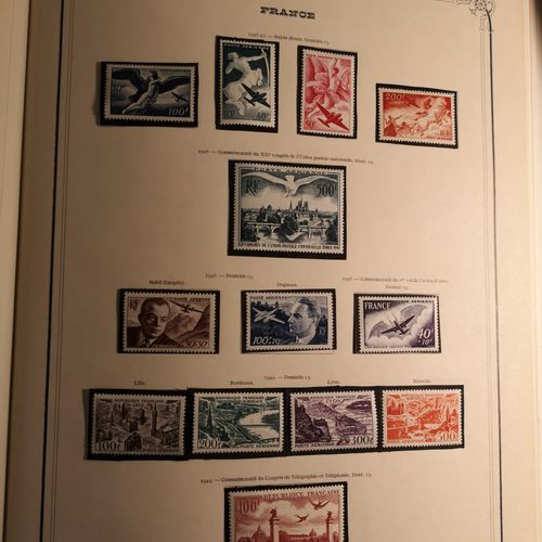 FRANCE et PAYS DIVERS, Emissions 1870/2000 Set of mint and cancelled stamps cont…