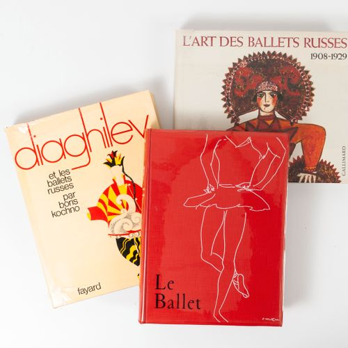 KOCHNO, Boris Ballet.  Art du monde Hachette éditeur, 1954.  One volume in folio…