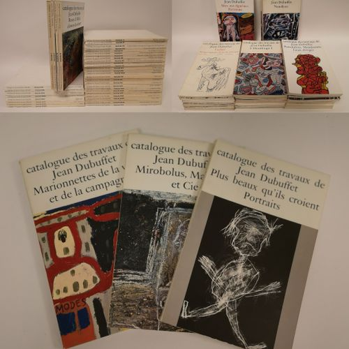 LOREAU, Max ; DUBUFFET, Jean. Catalogue of the works of Jean DUBUFFET.  Paris. E…