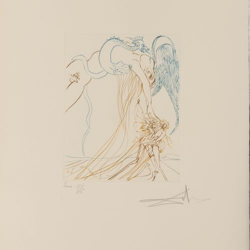 Salvador DALI (1904 1989) Paradise on Earth, 1974.  [Michler and Löpsinger 705 t…