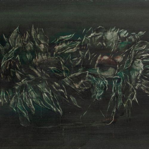 Ida Barbarigo (1925 2018) Becoming a Peony, 1979.  Oil on canvas.  Signed and da…