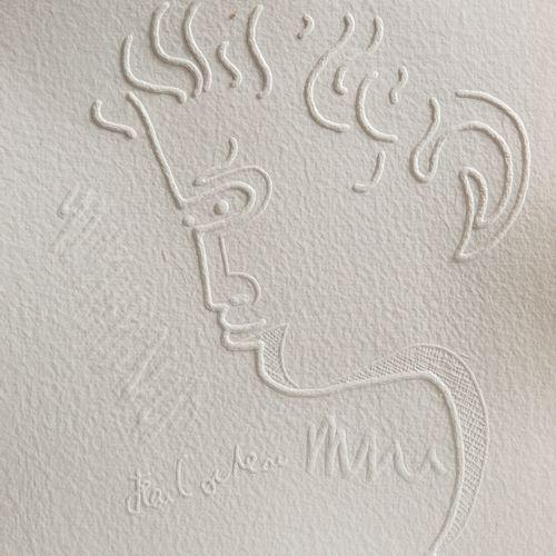DRAY, Michel Cocteau envisagé. Nice, Claude Garrandes, 1992. In folio, in sheets…
