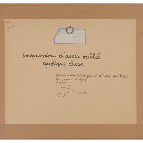 Albert DUBOUT (1905 1976) Ils marchaient toujours, 1933.  C'est curieux ! J'ai l…