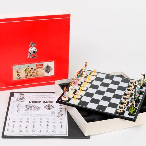 Pixi, Paris Lucky Luke, mini jeu d'échecs, 1996.  Tirage limité à 350 exemplaire…