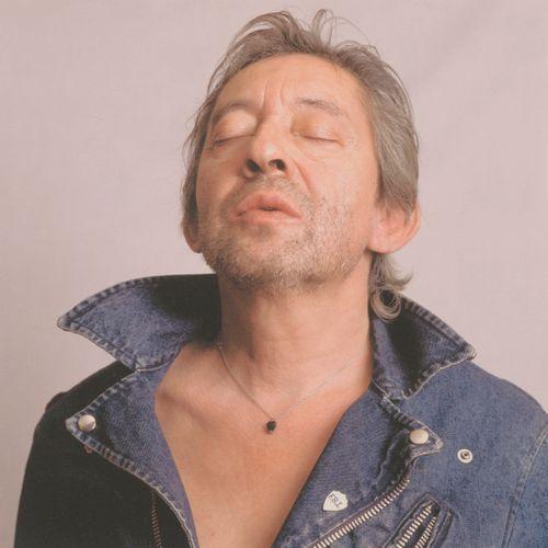MARC LAFON (XXème siècle) Serge Gainsbourg, circa 1989.  Tirage numérique sur pa…