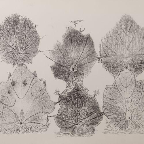 Jean Paul Riopelle (1923 2002) Lied à Emile Nelligan,1979.  Lithographie sur pap…