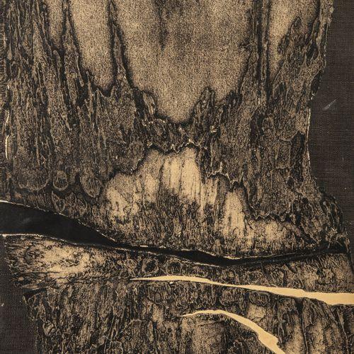 James GUITET (1925 2010) Sans titre, 1966.  Technique mixte sur panneau.  Signé,…