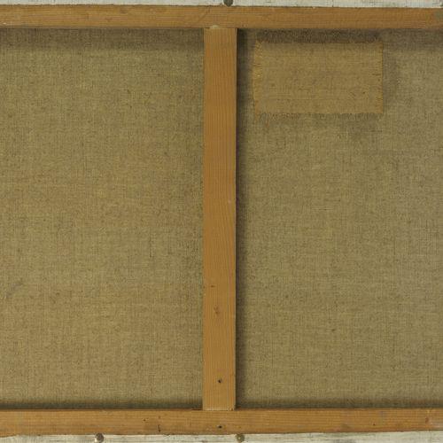Ely LAUMONIER (1895 ?) Paysage de Camargue.  Huile sur toile.  Signée en bas à d…