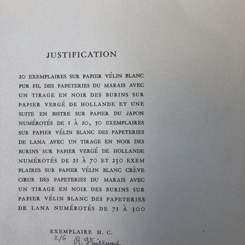 HOMERE Hymne à Déméter.  Burins originaux de Roger VIEILLARD.  Editions La nouve…