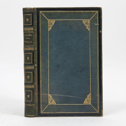 VIGNY (A. De). Stello.  Paris, Lib. Nouvelle, 1856, in 8, 2 ff. 358 pp., plein c…