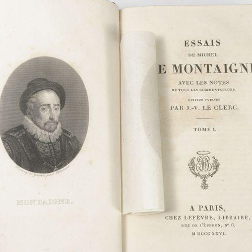 Michel de Montaigne Essais avec les notes de tous les commentateurs. Edition pub…