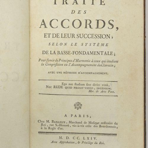 Traité des accords et de leur succession, selon le système de la basse fondament…