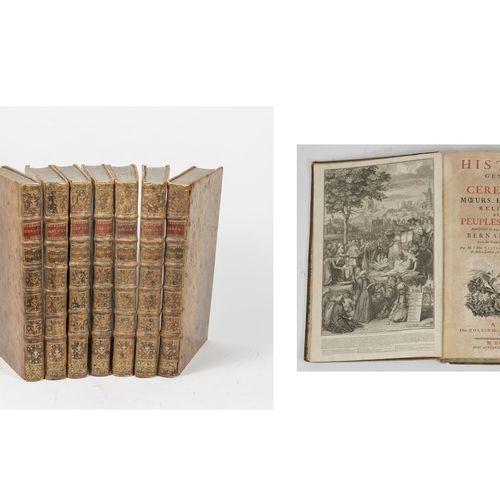 BANIER Antoine abbé (1673 1741), Le MASCRIER Jean Baptiste (1697 1760) Abbé Hist…