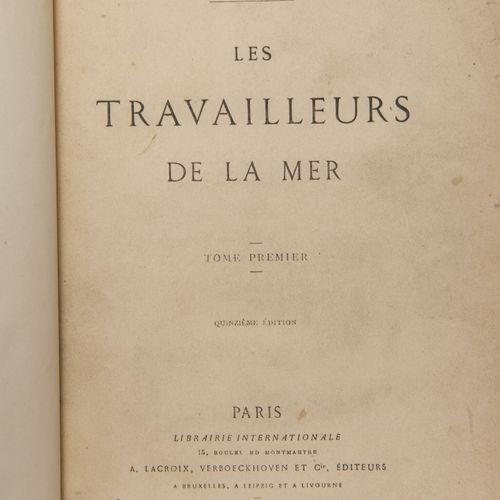 HUGO (Victor). Les travailleurs de la mer.  Paris, Lacroix, Verboeckhoven, 1866,…