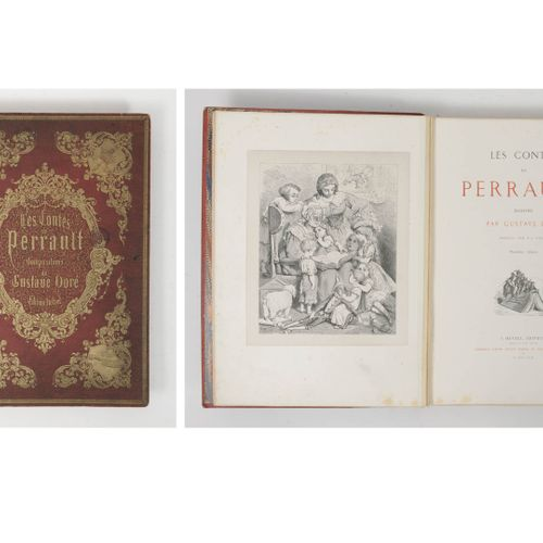 Perrault, Charles Les Contes.  Troisième édition. Paris, J. Hetzel, 1863.  In fo…
