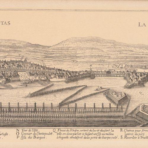 一共六幅版画。   中国植物学家在弗朗索瓦 布歇的工作之后。  20,5 x 13厘米(见图)。   两个光学视图:罗马的圣彼得 威尼斯,大运河鱼市。  27,…