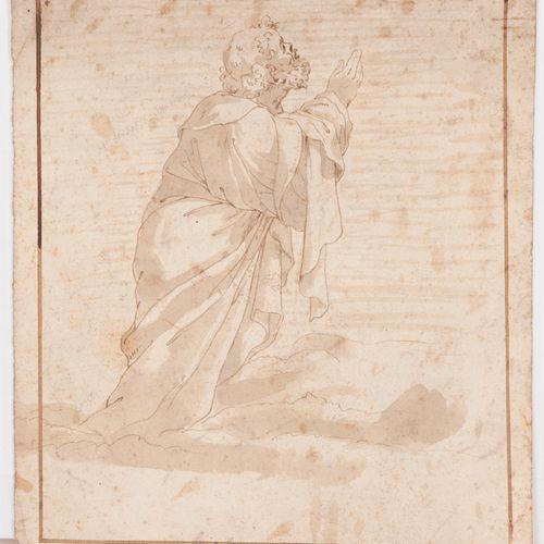 Emile COUTURIER (XIX XXe siècle) 埃米尔 库图里耶(XIX XX世纪   废墟。左下方有签名和1868年的日期。石墨。15 x …