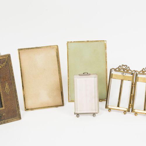 Lot de 6 cadres rectangulaires à chevalets pour photos, à monture ou ornements e…