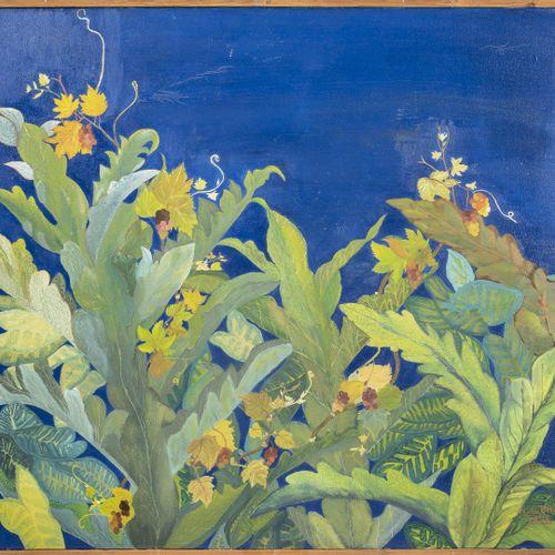 Nurden BILKI (XXème XXIème siècle) Sans titre, 1996.  Huile sur toile.  Signée e…