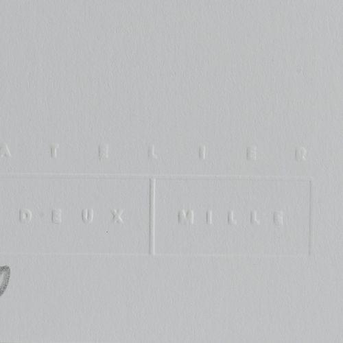 MAYE (1990) Sans titre, 2020.  Triptyque.  Trois sérigraphies sur papier.  Signé…