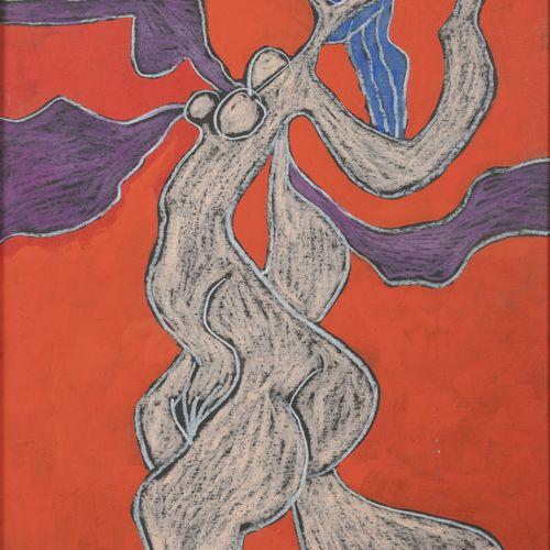 ROGER HERSON (1922 2008) Sans titre, 1973 74.  Pastel sur papier.  Signé et daté…
