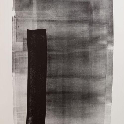 Hans HARTUNG(1904 1989) L 11, 1976.  Lithographie sur papier.  Signé en bas à dr…