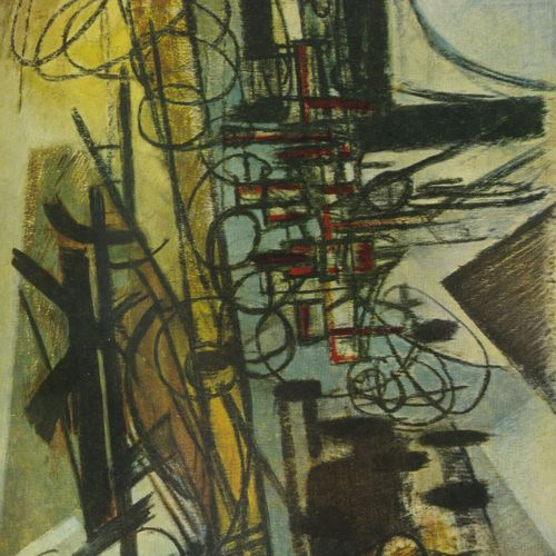 COLLECTIF Hans Hartung.  Plaquette, Galerie de France, Paris, 1960, Imprimerie d…