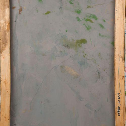 Francky CRIQUET (1968) Sans titre.  Huile sur toile.  Signée en bas à droite.  1…