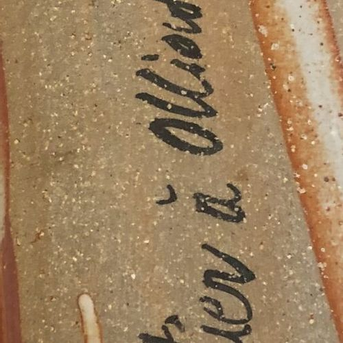 Pierre DUTERTRE (1956) Sans titre, circa 1990.  Suite de sept plaques en grès ve…