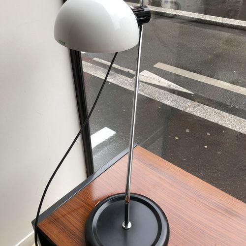 HARVEY GUZZINI (XXÈME SIÈCLE) Lampe de bureau.  En métal et plastique.  Guzzini …