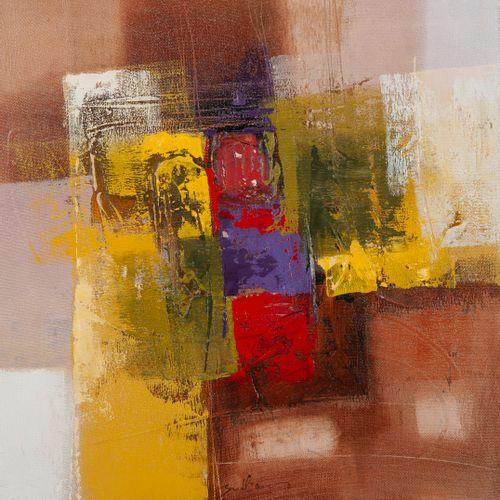 BUDIAWAN (1972) Sans titre, 2009.  Huile sur toile.  Signée en bas au centre.  6…