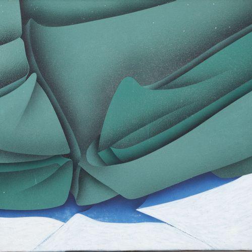 Jacques POLI (1938 2002) Stalamosoma, 1980.  Acrylique sur toile.  Signée, titré…