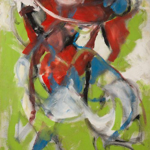 Francky CRIQUET (1968) Sans titre.  Huile sur toile.  Signée en bas à gauche.  1…