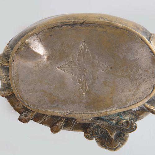 SINO TIBET, fin XIXème début du XXème siècle Jambhala en bronze assis et couronn…
