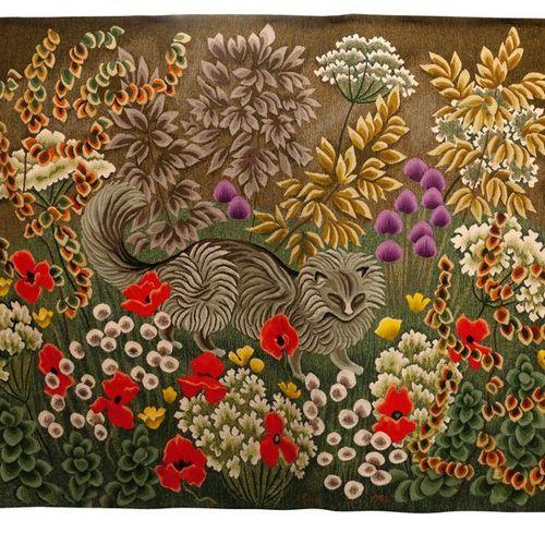 DOM ROBERT (1907 1997) & Atelier Suzanne GOUBELY Roméo, 1981. Tapisserie d'Aubus…