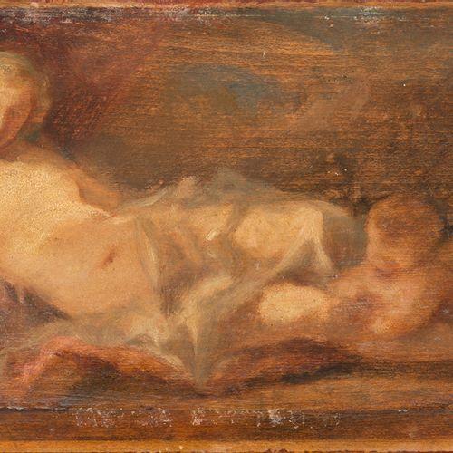 Narcisse Virgile DIAZ DE LA PEÑA (1807 1876) Venus and Love Oil on panel, signed…