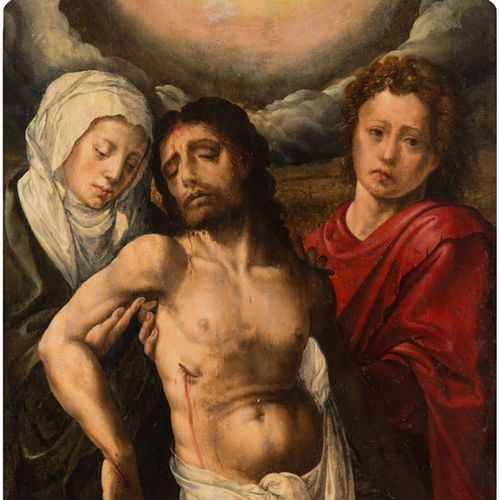 ORLEY Barend van (Ecole de) Bruxelles 1490 id.; 1542 The dead Christ supported b…