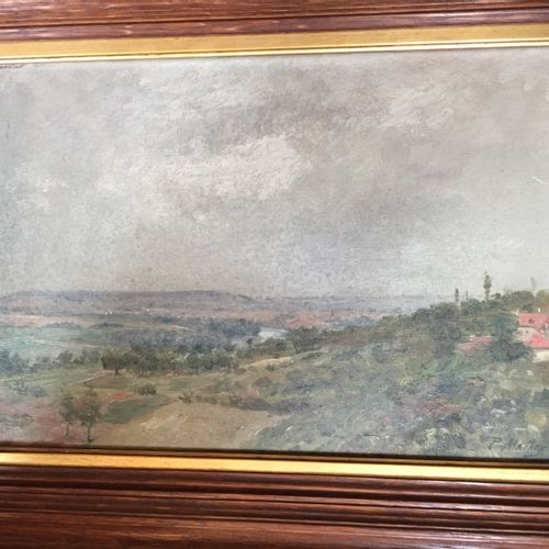 Paul MATHEY (1891 1972) Landscape Oil on panel, signed lower right 24 x 35 cm