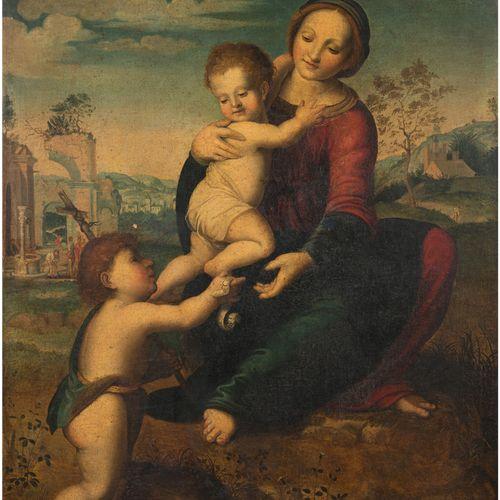 FRANCIABIGO Francesco (D'après) Florence 1482 iv.; 1525 Virgin and Child with th…