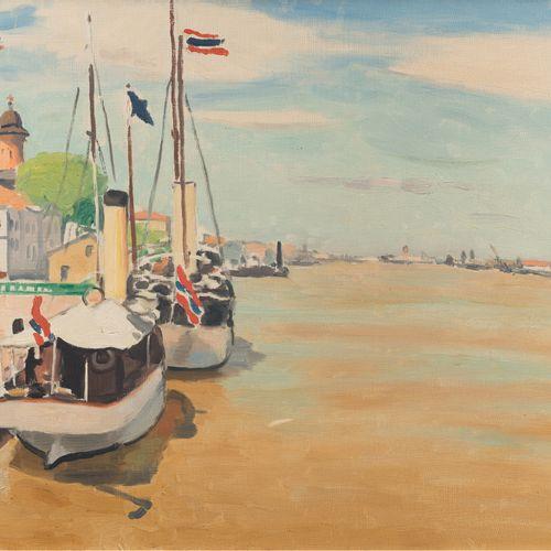 Albert MARQUET (1875 1947) The Danube in Sulina, circa 1931 1933 (?) Oil on canv…