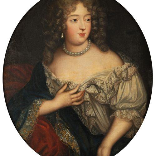 MIGNARD Pierre (Atelier de) Troyes 1612 Paris 1695 Portrait of Françoise Athénaï…