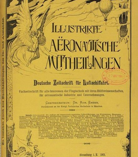 Emden,R. (Hrsg.). Illustrated aeronautical announcements. German magazine for ai…