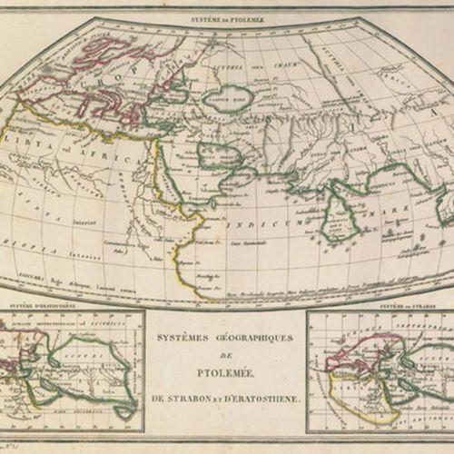 Malte Brun,C. Atlas complet du Précis de la Geographie universelle. Paris, Buiss…