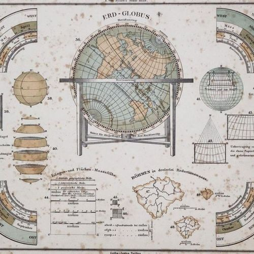 Meyer's Newspaper and penny atlas of all countries and states of the world. Hild…