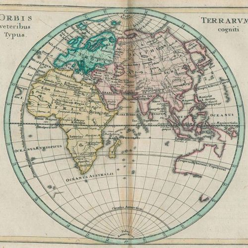 Köhler,J.D. Short and thorough guide to the old and middle geography. 2 parts in…