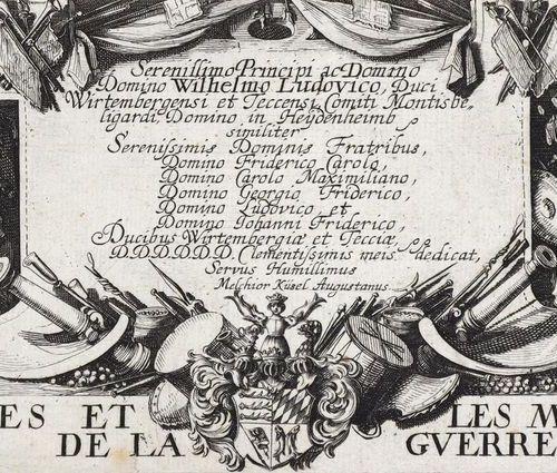 KÜSEL, Melchior (1626 Augsburg 1683) excudit. Les miseres et les mal heurs de la…