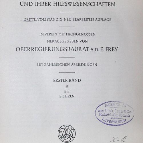 Lueger,O. Lexikon der gesamten Technik und ihrer Hilfswissenschaften. 3e éd. 6 v…